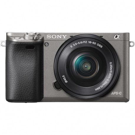 фотоапарат Sony A6000 (графит) + обектив Sony SEL 16-50mm f/3.5-5.6 PZ