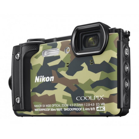 Nikon Coolpix W300 (camouflage) + GIFT Nikon waterproof backpack