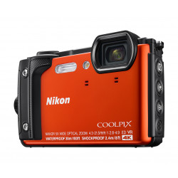 Camera Nikon Coolpix W300 (Orange) + GIFT Nikon waterproof backpack