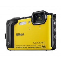 фотоапарат Nikon Coolpix W300 (жълт) + ПОДАРЪК непромокаема раница Nikon