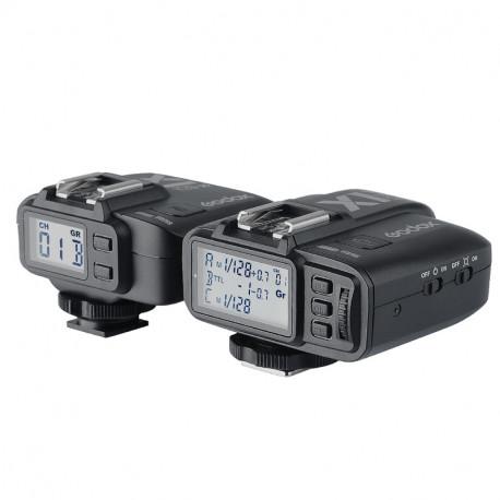 Godox X1 TTL радиосинхронизатор - предавател и приемник за Nikon