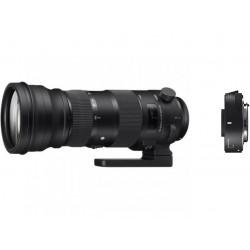 обектив Sigma 150-600mm f/5-6.3 C - Nikon + конвертор Sigma TC-1401 (1.4x) за Nikon F