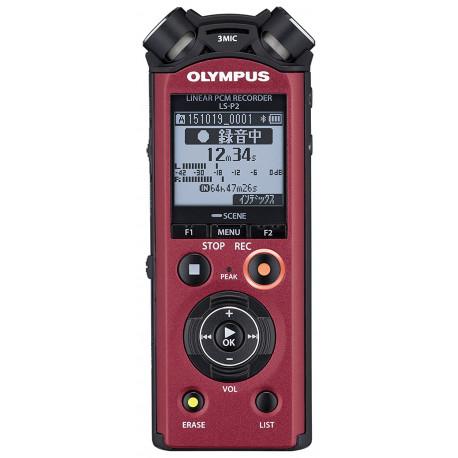 Olympus LS-P2 LineArt PCM Recorder (червен)