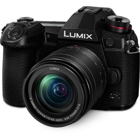 Panasonic Lumix G9 + обектив Panasonic 12-60mm f/3.5-5.6 OIS + грип за батерии Panasonic DMW-BGG9E
