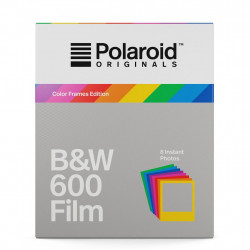Polaroid Originals 600 black and white with colored frames