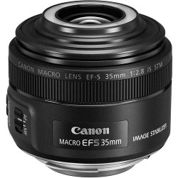 Lens Canon EF-S 35mm f / 2.8 Macro IS STM