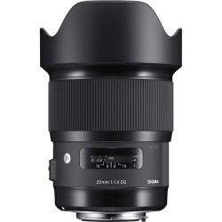 обектив Sigma 20mm f/1.4 DG HSM Art за Sony E-Mount