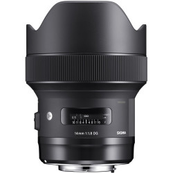 обектив Sigma 14mm f/1.8 DG HSM Art за Sony E-Mount