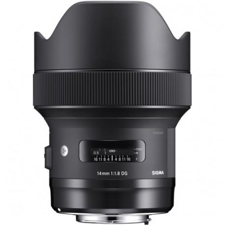 Sigma 14mm f/1.8 DG HSM Art за Sony E-Mount