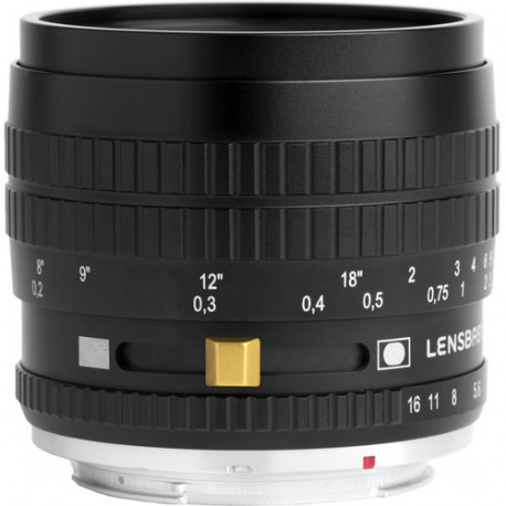 Lensbaby Burnside 35mm f/2.8 за Sony E-Mount