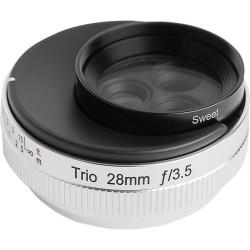Lensbaby Trio 28mm f/3.5 за Micro 4/3