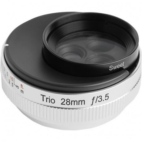 Lensbaby Trio 28mm f/2.8 за Sony E-Mount