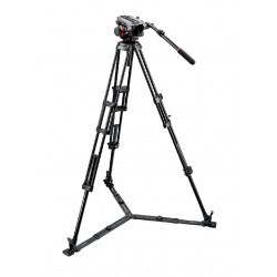 Tripod Manfrotto 504HD, 546GBK Midi Twin System (GS) Video Tripod