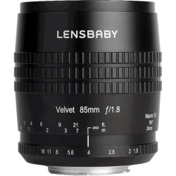 обектив Lensbaby Velvet 85mm f/1.8 - mFT