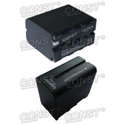 Battery Const NP-F970 6800 MAH 7.2V