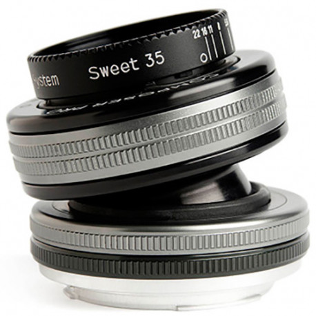 Lensbaby Composer Pro II Sweet 35mm f/2.5 OPTIC за Sony E-Mount