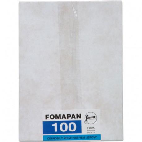 """Foma FOMAPAN 100 / 9х12 см. (4""""X5"""") / 50 бр."""