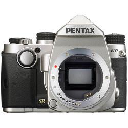 фотоапарат Pentax KP (сребрист) + обектив Pentax HD 18-50mm f/4-5.6 DA DC WR RE