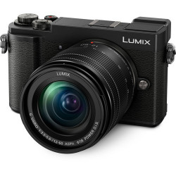 PANASONIC LUMIX GX9 BLACK+14-42MM KIT+BLG10 BATTERY+SANDISK EXTREME SDHC 32GB