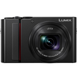 PANASONIC LUMIX TZ200 BLACK+DMW-BLG10 BATTERY