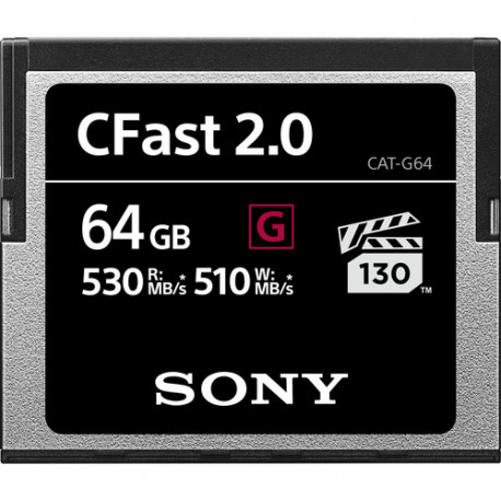 Sony CFast 2.0 64 GB CAT-G64