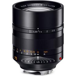 Lens Leica Noctilux-M 75mm f / 1.25 ASPH.