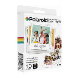 Polaroid Zink 3x4 in (7,6x10 см) 10 бр.