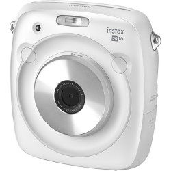 Instax Square SQ10 моментална камера (бял)