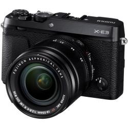 фотоапарат Fujifilm X-E3 + обектив Fujifilm Fujinon XC 15-45mm f/3.5-5.6 OIS PZ + обектив Zeiss 32mm f/1.8 - FujiFilm X
