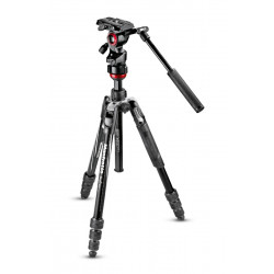 статив Manfrotto Befree Live Видео статив + чанта Manfrotto MB PL-CC-191N Pro Light видеочанта
