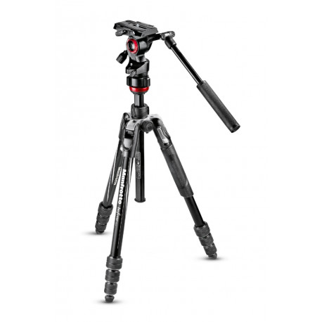 Tripod Manfrotto Befree Live Video Tripod + Backpack Manfrotto MB PL-CB-EX Pro Light Cinematic Expand Backpack