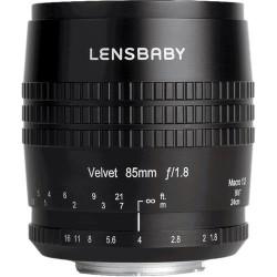обектив Lensbaby Velvet 85mm f/1.8 - Canon EF