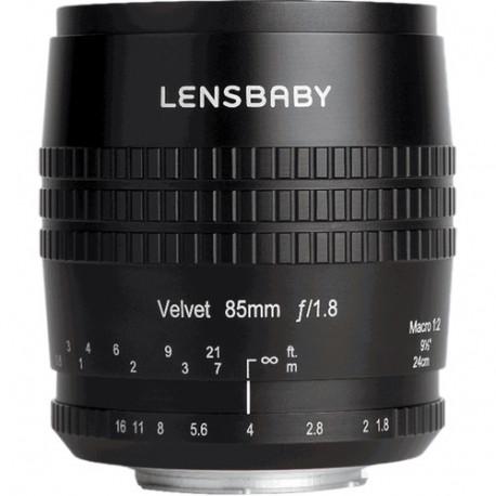 Lensbaby Velvet 85mm f/1.8 - Nikon F