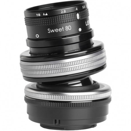 Lensbaby Composer Pro II with Sweet 80 Optic - Nikon F