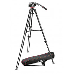 статив Manfrotto MVK502AM-1 Видео статив + чанта Manfrotto MB PL-CC-191N Pro Light видеочанта