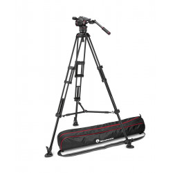 статив Manfrotto Nitrotech N8/546B Twin LEG Mid Spreader Видео статив