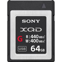 XQD 64GB R:440 MB/s / W:400 MB/s