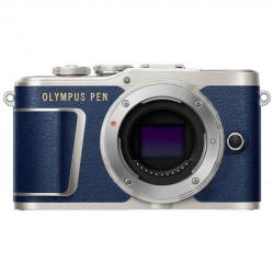 Camera Olympus PEN E-PL9 (син) + Lens Olympus ZD Micro 14-42mm f/3.5-5.6 EZ ED MSC (сребрист)