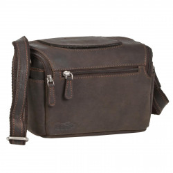 чанта Kalahari Kaama L-13 Leather кожена чанта + аксесоар Kalahari L-57 Калъф за филтри