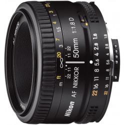 Lens Nikon AF Nikkor 50mm f/1.8D