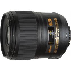 обектив Nikon Micro 60mm f/2.8 G + аксесоар Nikon Адаптер за дигитализиране на филми ES-2