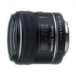 обектив Pentax SMC 50mm f/2.8 Macro D FA