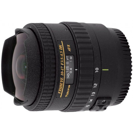 Tokina 10-17mm f / 3.5-4.5 DX Fisheye for Nikon