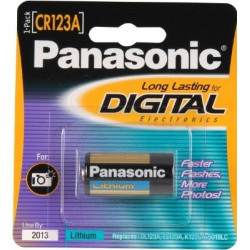 Battery Panasonic CR 123A 3V Battery 1 pc.