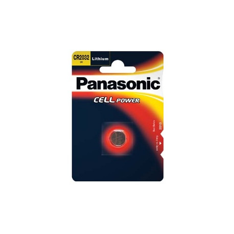 Panasonic CR-2032 3V Battery 2 pcs.