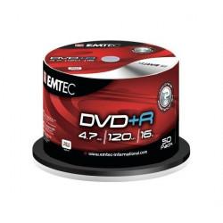 DVD Emtec DVD+R 16x 10 бр.