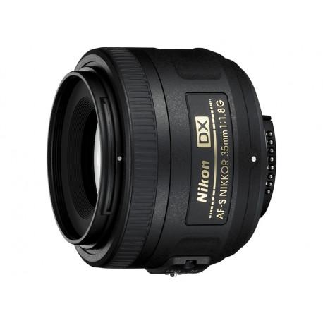 обектив Nikon DX 35mm f/1.8G + филтър Praktica UV MC 52mm