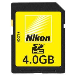 Nikon SDHC 4GB CLASS 6