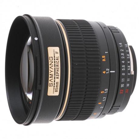 Samyang 85mm f/1.4 - Canon EF