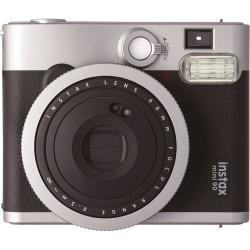 фотоапарат за моментални снимки Fujifilm instax mini 90 + фото филм Fujifilm Instax Mini ISO 800 Instant Film 10 бр.